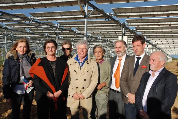 """Featured image for """"Première mondiale à Tresserre dans les P.-O. : Photovoltaïque et viticulture réconciliés"""""""