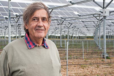 """Featured image for """"La première centrale agrivoltaïque sous vigne voit le jour en Roussillon"""""""