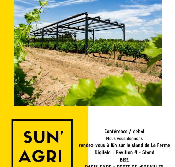 """Featured image for """"Conférence SIA 2020 « Climat : les nouveaux défis de la filière viticole et arboricole » !"""""""