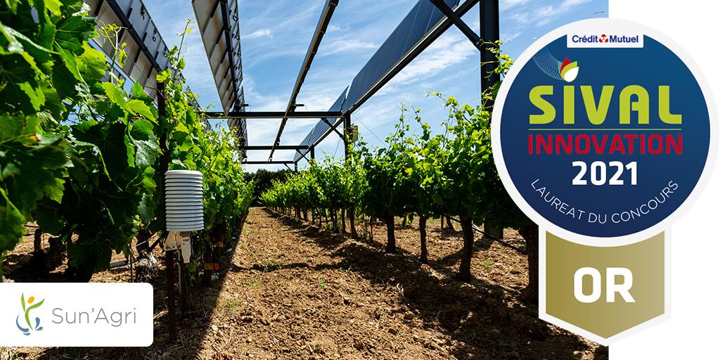 "Featured image for ""Sun'Agri récompensé au concours SIVAL Innovation 2021"""